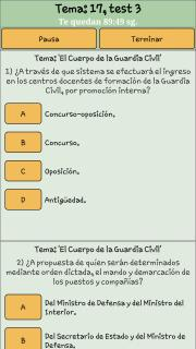 TestOpos Guardia Civil