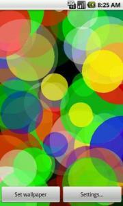 ColorSplash Live Wallpaper