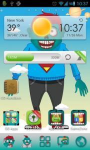 Zombie Theme Go Launcher
