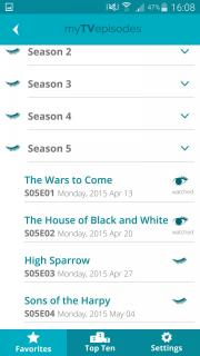 My TV Episodes