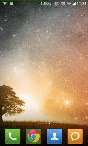 Artistic Tree Stars LWP
