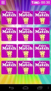 Fairy Memory Matching