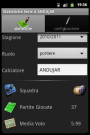 Statistics Serie A