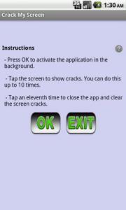 Crack My Screen