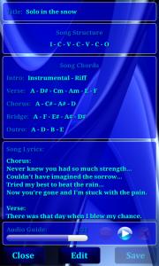 Song Scrapbook