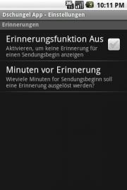 Dschungel App