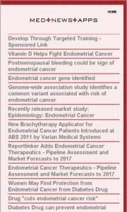 Endometrial Cancer News
