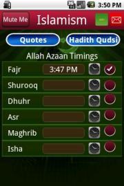 Islamic World-Azaan Qudsi Quotes
