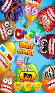 Crazy Fruit Dentist