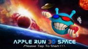 Apple Run 3D Space