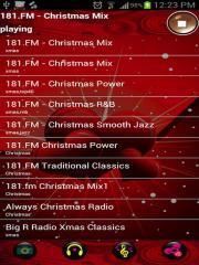 Christmas Radio Time Shift