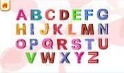 My english alphabet. Kids playground