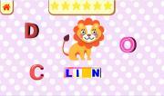 My english alphabet. Kids playground