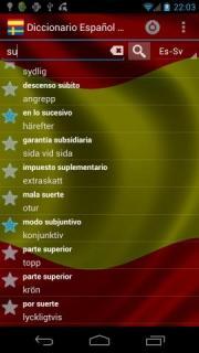 Spanish Swedish Dictionary FREE