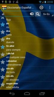 Spanish Swedish Dictionary FREE