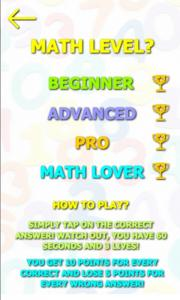 Those Numbers 2 - Math Game