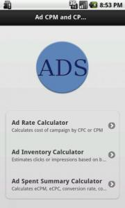 Ads Calculator