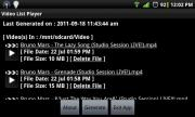 Video List Player