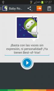 Voz Niño Robot (español)