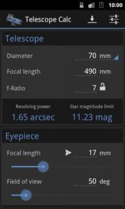 Telescope Calc