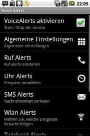 Voice Alerts