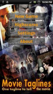Movie Taglines Quiz