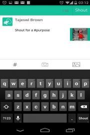 Shout App