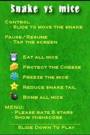 Snake vs. Mice