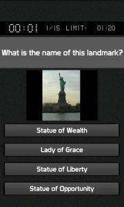 World Landmark Game