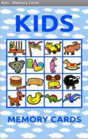 Kids - Memory Cards