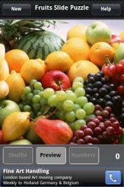 Fruits Slide Puzzle