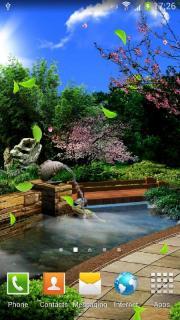 Eastern Garden Live Wallpaper