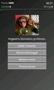 Harry Potter Character Quiz