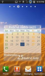 Hijri and Gregorian Calendar