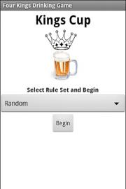 Four Kings Drinking Game