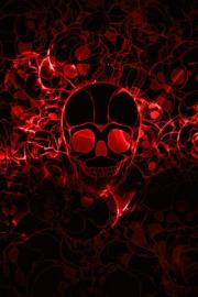 Shining Skull Live Wallpaper