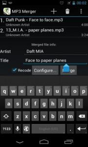 MP3 File Merge