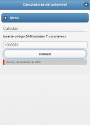 DAM code