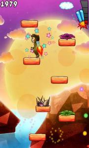 Aero monkey jumping