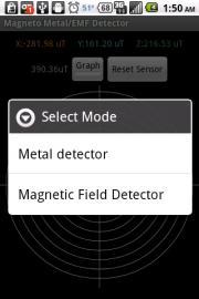 Magneto Metal/EMF Detector Free