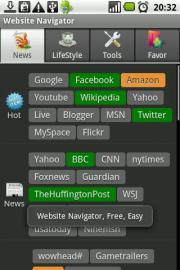 Website Navigator Pro
