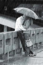 Rainy day romance