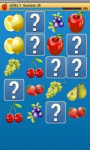 Fruits Memory Game Plus