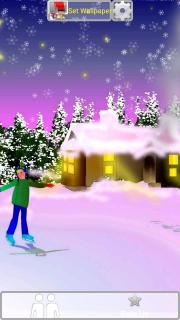 Snowy Ice Rink HD