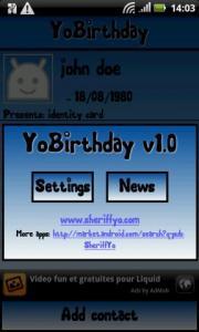 YoBirthday