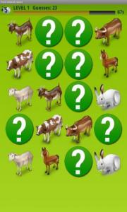 Farm Animals Game