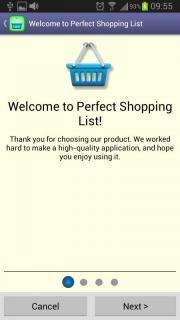 Perfect Shopping List