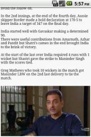 Best Test Matches