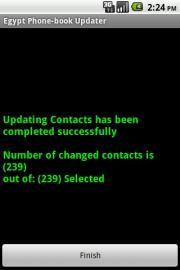 Egypt Phone-book Updater