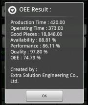 OEE Calculator Kit 1.2.1